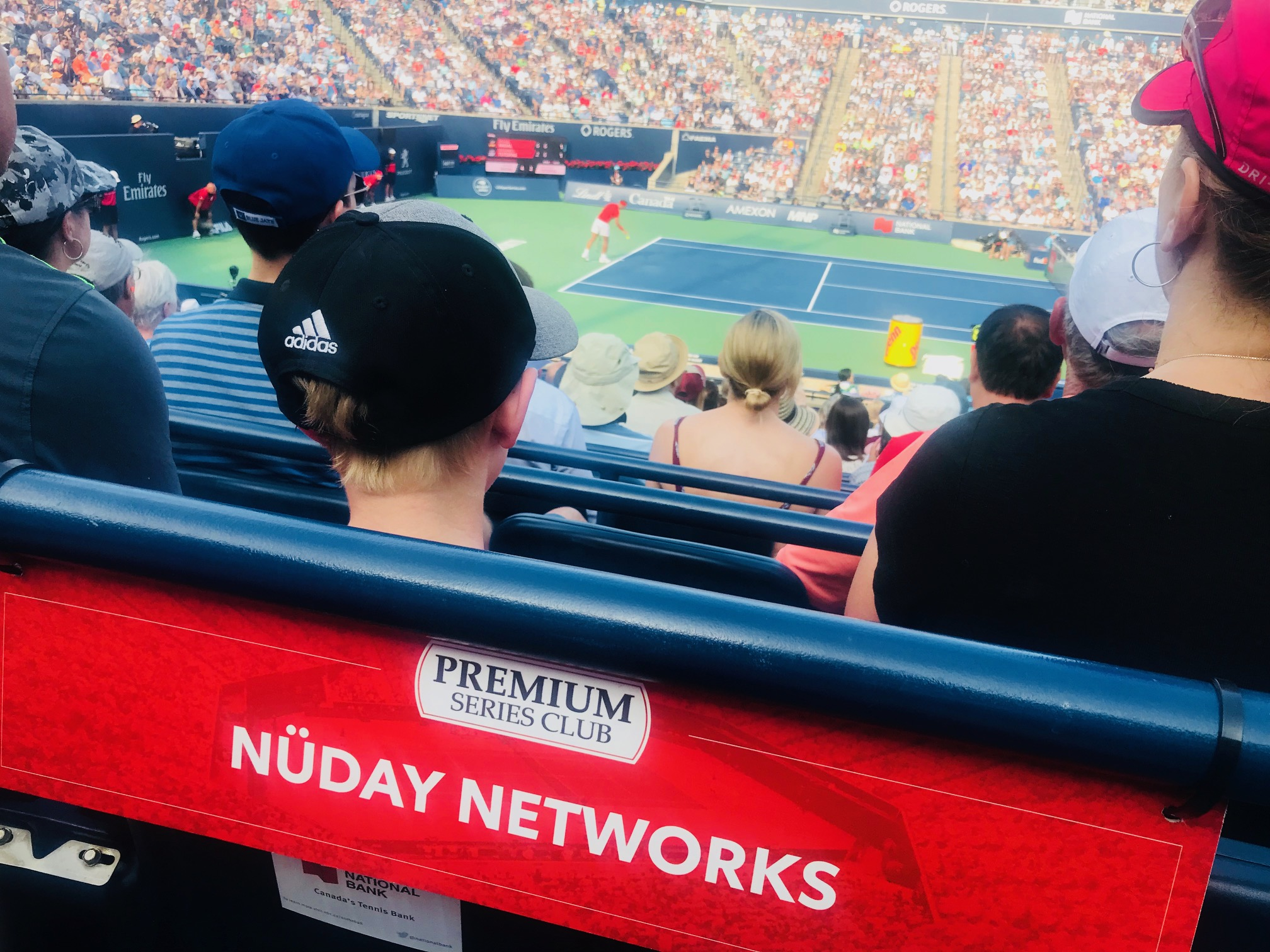 Nuday at Rogers Cup 2018